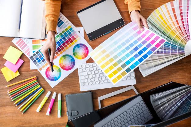 تصویر تاثیر روانشناسی رنگ در گرافیک