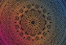 تصویر در چگونه در فتوشاپ نقاشی متقارن بکشیم؟ کار با گزینه Paint Symmetry
