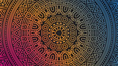 تصویر چگونه در فتوشاپ نقاشی متقارن بکشیم؟ کار با گزینه Paint Symmetry