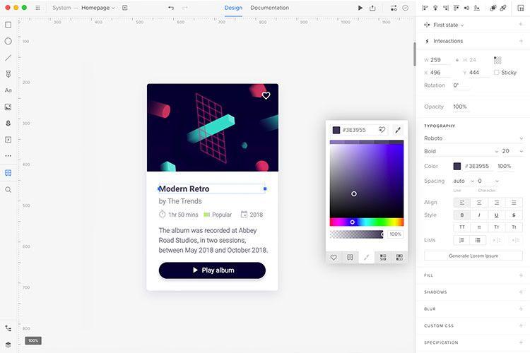 نرمافزار برتر طراحی یو آی