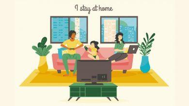 تصویر به عنوان یک گرافیست چگونه در خانه بمانیم و بهترین استفاده را بکنیم؟