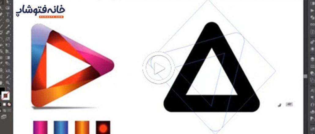 طراحی لوگو در نرم افزار ایلستریتور