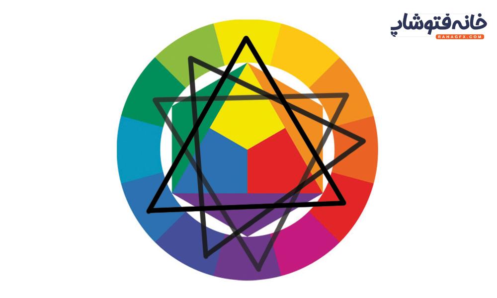 تریاد در دایره رنگ چیست ؟