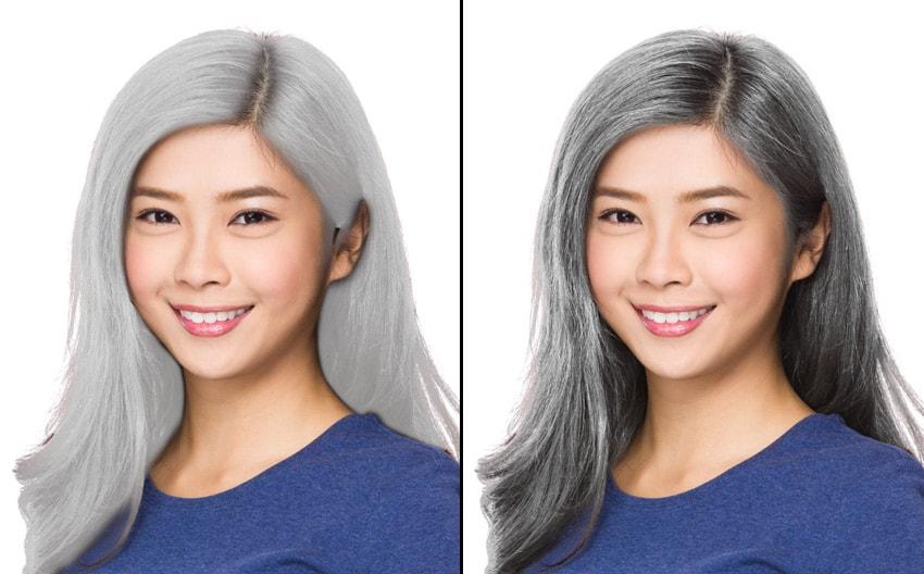 تغییر رنگ مو