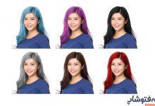 تصویر در تغییر رنگ مو حرفهای | چگونه رنگ موها را در فتوشاپ عوض کنیم؟