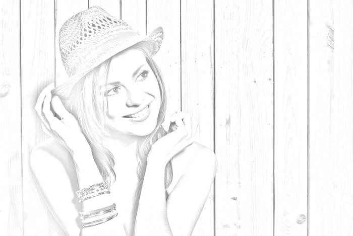 تبدیل عکس به طراحی با مداد