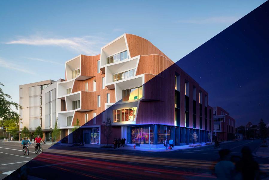 فتوشاپ در معماری
