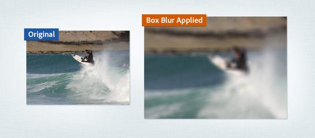 افکت های Blur and Sharpen در افترافکت
