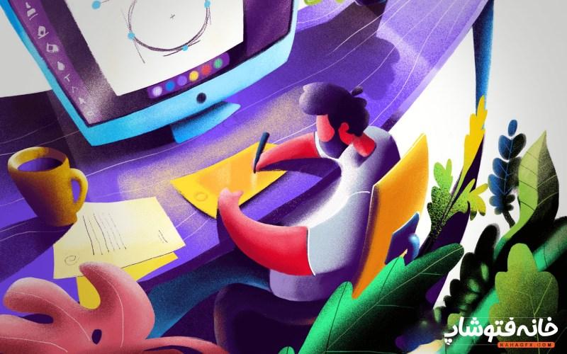 گرافیک دیزاین یا UX دیزاین